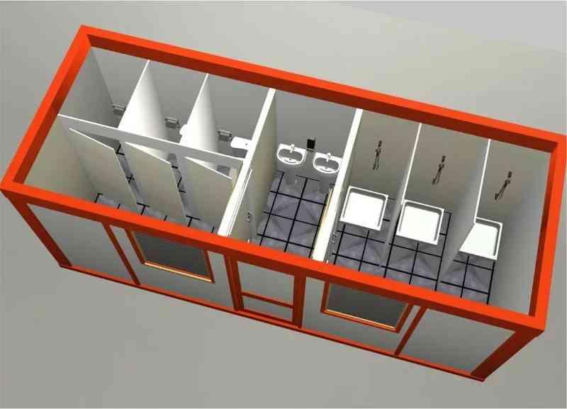 Сантехнические блок-контейнеры