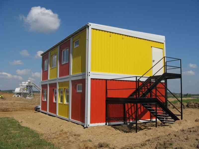 Дома из блок-контейнеров