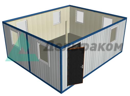 Блок-контейнер переговорная МП-02